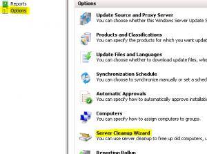 Disable WSUS Updates on SBS Server
