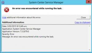 scsm-error